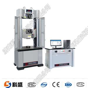兰州WEW-300/300KN微机屏显液压万能试验机